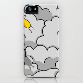 Umbrella Flying iPhone Case