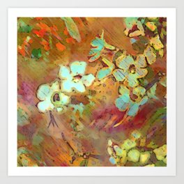 Ethereal Bloom Art Print
