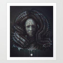 The Unseen Art Print