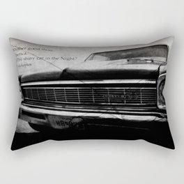 Shiny Car in the Night Rectangular Pillow