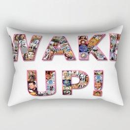 WAKE UP!  Rectangular Pillow
