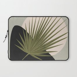 Tropical Leaf- Abstract Art 5 Laptop Sleeve