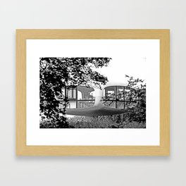 Weddingroom in Binz Framed Art Print