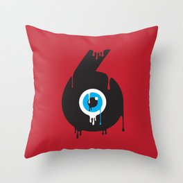 Paint your Society Throw Pillow