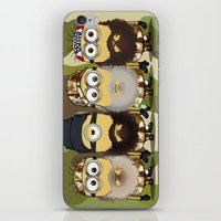 minions iPhone & iPod Skins featuring Minions Mashup Duck Dinasty by Akyanyme