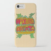 hakuna iPhone & iPod Cases featuring Hakuna Color by Diego Tirigall