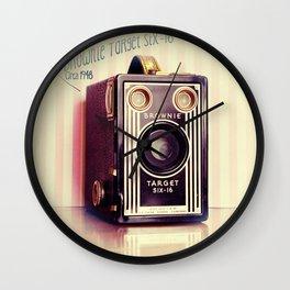 Vintage Camera Love: Kodak Brownie Target Six-16! Wall Clock