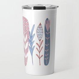 Deco floral Travel Mug