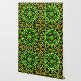 Citrus Mandala Wallpaper