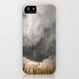 Marshmallow - Storm Cloud Over Golden Wheat in Kansas iPhone Case