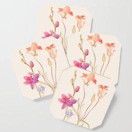 Floral watercolour Coaster