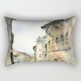 Italy oldtown Arezzo Rectangular Pillow