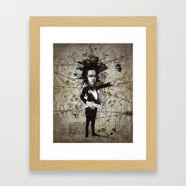 Mr. Hungry Framed Art Print