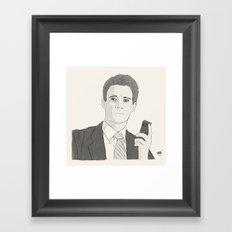Agent Dale Cooper Framed Art Print