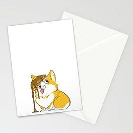 Pancake Corgi Stationery Cards