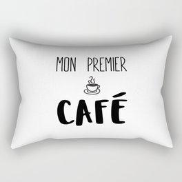 Mon premier CAFÉ Rectangular Pillow