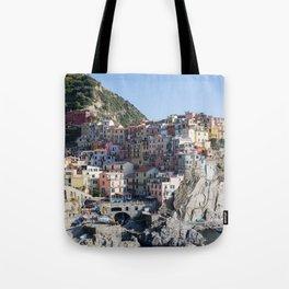 Manarola, Cinque Terre Italy Tote Bag