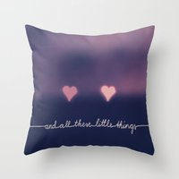 one direction Throw Pillows featuring ONE DIRECTION by SUNLIGHT STUDIOS  Monika Strigel