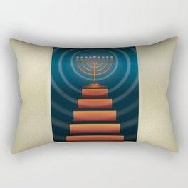 Art Deco Hanukkah Rectangular Pillow