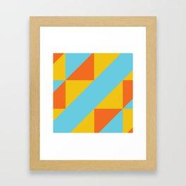Andean Encounters Framed Art Print