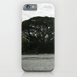 Majestic Beautiful Tree on the Mekong River iPhone Case