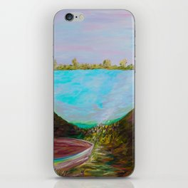 A Boat and a Seamless Sky iPhone Skin