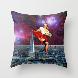 The Shard Throw Pillow