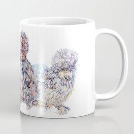 Silkie Chicken Huddle Coffee Mug