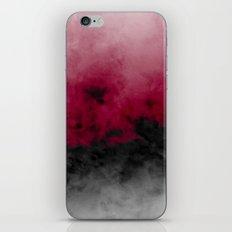 Zero Visibility Crimson iPhone & iPod Skin