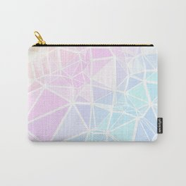 Pastel Triangles 1 Carry-All Pouch