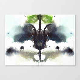 Rorschach revisited II Canvas Print