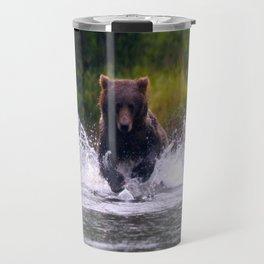ALASKA V: Fishing in the Rain Travel Mug