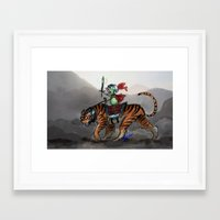 kermit Framed Art Prints featuring Sir kermit  by oasisiwinds