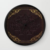 book cover Wall Clocks featuring BOOK COVER by ED design for fun