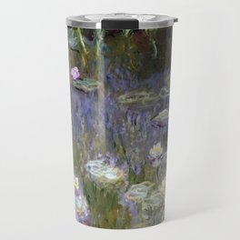 "Claude Monet ""Water lilies""(2) Travel Mug"