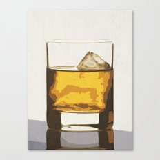 Old Scotch Whiskey Canvas Print