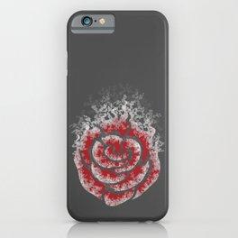 Echo of a Rose iPhone Case
