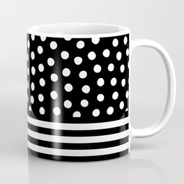 Big Fat Black White Spots Coffee Mug
