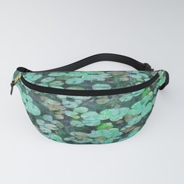 Water Lily Leaf Fine Art Fanny Pack