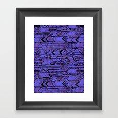 Kama'aina Purple Framed Art Print