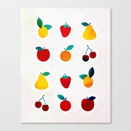 Tutti Frutti Canvas Print