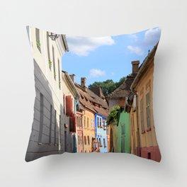 Sighisoara V Throw Pillow