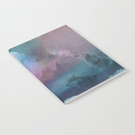 Howling at the moon Notebook