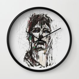Staggered Wall Clock