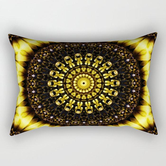 Sunflower Manipulation 2 Rectangular Pillow