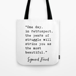 Sigmund Freud quote Tote Bag