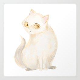 cat d Art Print