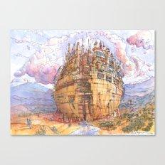 La Citta' Sferica Canvas Print