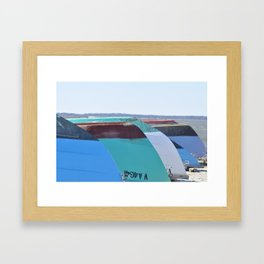 Eastern Shore Boat Rental Framed Art Print