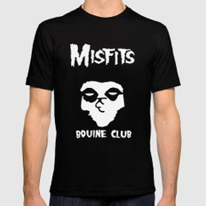 The Bovine Club Mens Fitted Tee Black LARGE